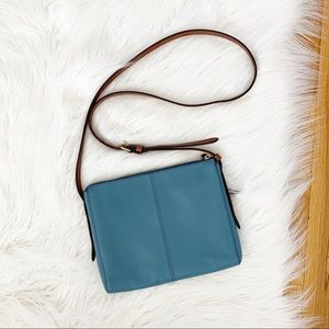 Fossil Bags - NWOT Fossil | Pebbled Leather Crossbody Bag